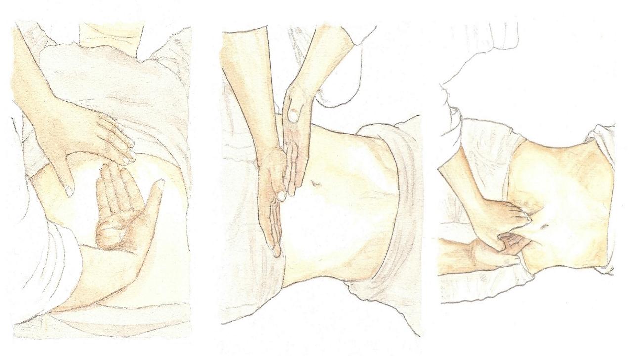 BOK BU - Massaggio addominale coreano